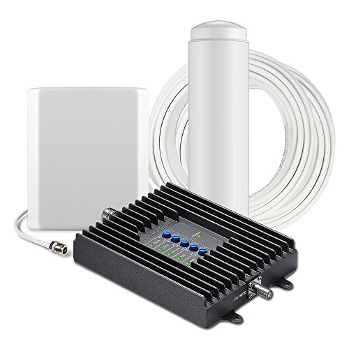 SureCall Fusion4Home Cell Phone Signal Booster Kit for Home and Office - Verizon, AT&T, Sprint,...