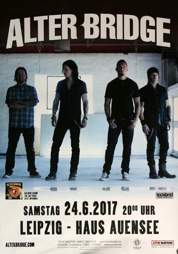 Alter Bridge - Last Hero, Leipzig 2017 » Konzertplakat/Premium Poster   Live Konzert Veranstaltung   DIN A1 «