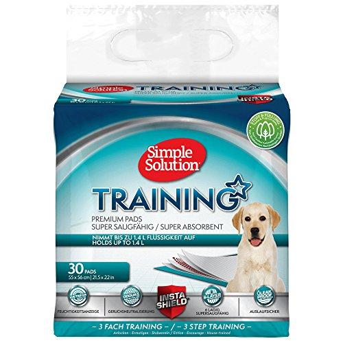 Simple Solution - Alfombra educadora para perros, 30 alfombras