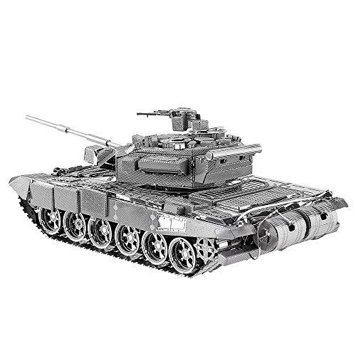 Piececool Metal Modell 3D Puzzles-T-90A Tank-Metal Modellbausatz für Erwachse