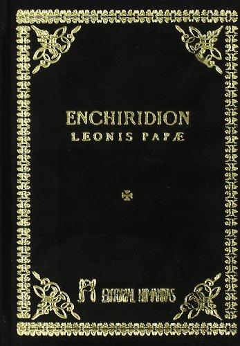 Enchiridion Leonis Papae : oraciones misteriosas enviadas por el Papa León como un vano presente al emperador Carlo Magno