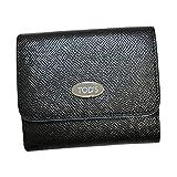 トッズ TOD'S レザー DSQ P.FOGLIO MINI かぶせ型 折財布 ブラック [レディース] XAWDSQBB1Z0TBB B999
