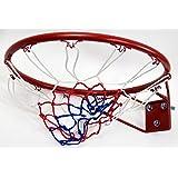 (モデラ)MODELA 公式サイズ バスケットゴールコンクリート壁にも取り付け可能な頑丈なバスケットリングネット付きバスケットボール直径45cm
