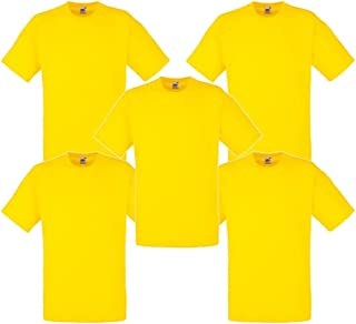 Fruit of the Loom Men's T-Shirt (Pack of 5)