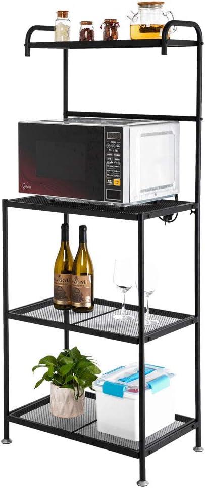 Now on sale Ranking TOP9 Sitelan Multiuse 4-Tier Metal Kitchen Bakers St Rack Microwave