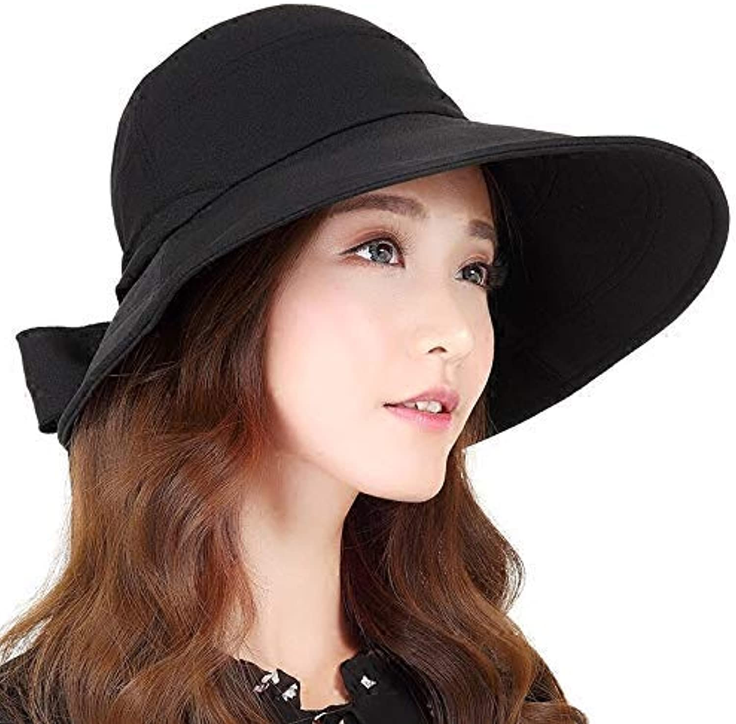 Dingkun Spring and summer outdoor face visor visor summer casual fisherman hat lady sun predection sun hat foldable