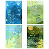 Hallmark Assorted Thinking of You, Get Well, Sympathy Cards (12 Cards with Envelopes) Nature Prints