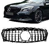 A1178801160, grille de pare-chocs avant en maille noire pour Benz Classe CLA-X117 PANAMERICANA GT CLA200 2013-2016