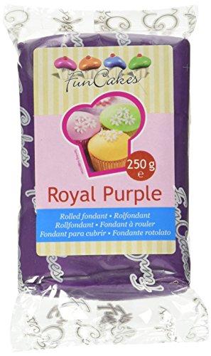 FunCakes Pasta di Zucchero Viola Reale - Pacco da 250 gr