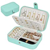 【Great Gift Choice】Are you thinking of a suitable gift for your girl friend, your Mom, your teacher or your lovers? That's right! Our elegant jewelry box should be your best choice. It will come with a gift box packing, friendly design, excellent mat...