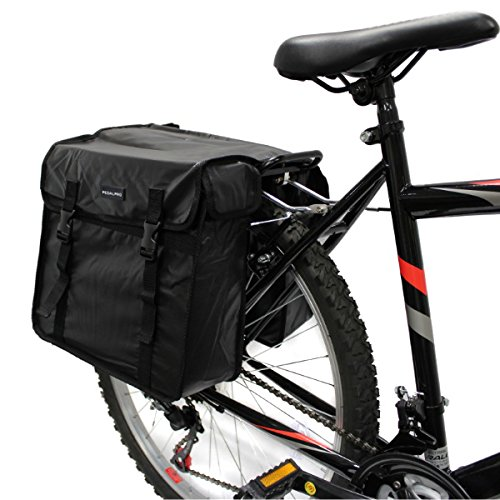 PedalPro Wasserdichte Doppelt-Fahrradtasche hinten