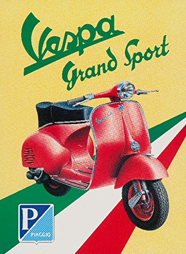Vespa - Grand Sport Vintage Poster Italy (16x24 Giclee Gallery Print, Wall Decor Travel Poster)