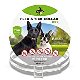 Best Flea Collars For Dogs - SOBAKEN Flea and Tick Prevention for Dogs, Natural Review
