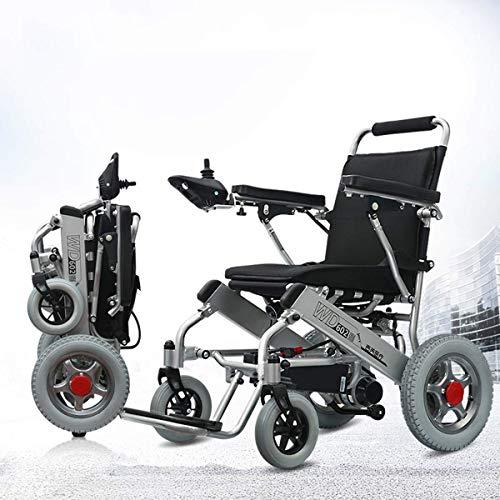 CHAIR Rollstuhl, medizinischer Rehabilitationsstuhl für Senioren, alte Menschen, intelligenter leichter zusammenklappbarer Elektrorollstuhl, kompakter Elektrorollstuhl, leichter zusammenklappbarer El