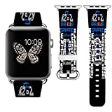 Apple Watchバンド42mm +ステンレススチールコネクタApple Watchバンド38mm iWatchバンドfor Apple Watch 42mm iWatchバンドfor Apple Watch 38mmシリーズ1シリーズ2シリーズ3(38mm M/L) 42mm M/L