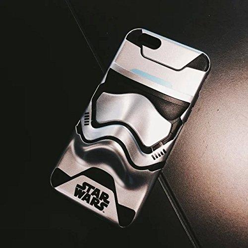 star wars STORMTROOPER ストームトルーパー スマホケース iPhone6/6s 4.7インチ / 6plus 5.5インチ 3D カバー (iphone 6/6s, シルバー) [並行輸入品]