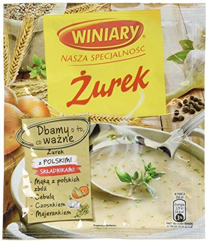 """Winiary Polnische Sauerteig-Trockensuppe """"Zurek"""", 30er Pack (30 x 49 g)"""