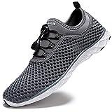 Zhuanglin Men's Quick Drying Aqua Water Shoes,Darkgrey%,10.5 D(M) US