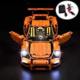 LED para Lego Porsche 911 GT3 RS 42056 y 20001(Porsche no Incluido)