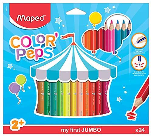 Lápiz de color multitalento STABILO woody 3 en 1 - Estuche con 6 colores y sacapuntas (Productos de oficina)