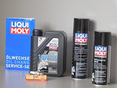 Kit de mantenimiento Honda WAVE 110aceite Bujía Service Inspección Cadena ölwechsel