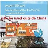 China SIM Card 90days 6GB 5G/4G Data + 50 mins Local Calls or 100 Local Texts, China Local #,! Free Incoming Calls and Texts