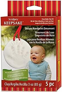Polyform Sculpey Keepsake Handprint Ornament Kit