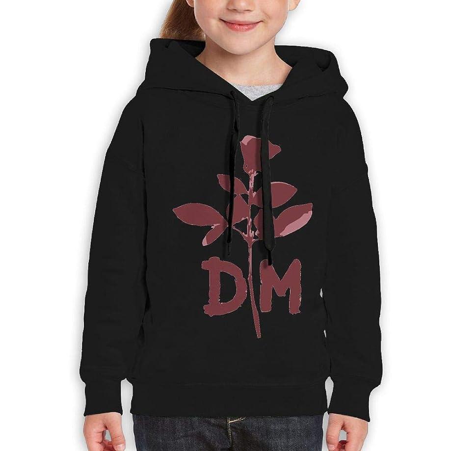 Guiping Depeche DM Mode Youth Pullover Hooded Sweatshirt Black