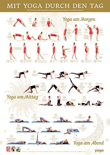 Yoga Verlag Mit Yoga Durch Den Tag Poster Von Yoga Aktuell