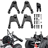 RCLions Aluminum Front/Rear Shock Tower Shock Hoops for Axial SCX10 ii Upgrades 90046/90047 RC Crawler Car