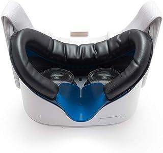VR Cover Facial Interface & Foam Replacement Set for Oculus Quest 2 (Dark Blue & Black)