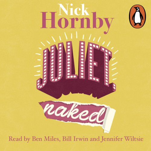 Juliet, Naked                   By:                                                                                                                                 Nick Hornby                               Narrated by:                                                                                                                                 Jennifer Wiltsie,                                                                                        Ben Miles,                                                                                        Bill Irwin                      Length: 8 hrs and 58 mins     216 ratings     Overall 3.9