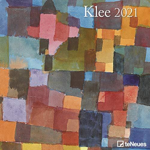 Klee 2021 - Wand-Kalender - Broschüren-Kalender - 30x30 - 30x60 geöffnet - Kunst-Kalender