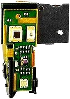 Förnyelse Reparation för skärmskydd IPartsbuy Power Button Flex Cable & Earphone Jack Parts för Sony Xperia S / LT26 / LT2...