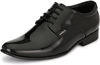 San Frissco Men's Black Formal Shoes-10 UK/India (44 EU) (EC 3614_BLK-10)