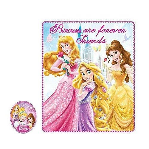 Plaid polaire Princesse couverture enfant Disney fille javo