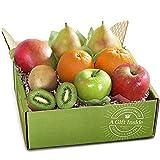 Large and Juicy Dessert Pears. Sweet Fuji and tart Granny Smith Apples. Sweet Royal Navel Oranges. Exotic Mangoes and Kiwi.