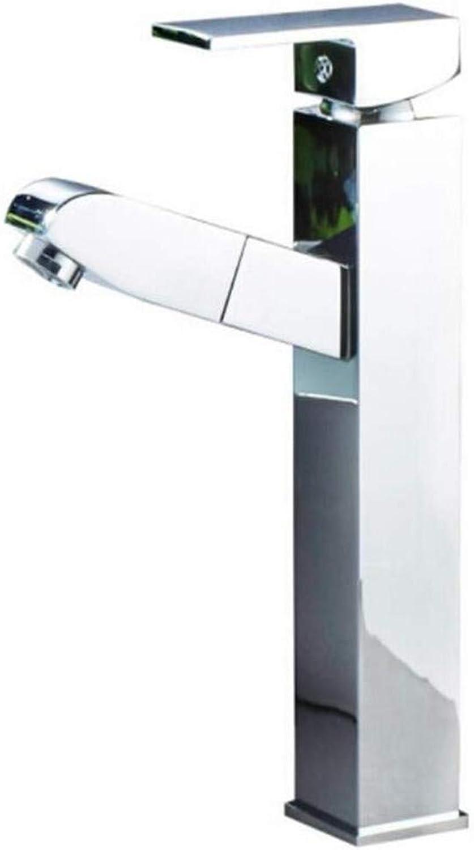 Kitchen Bath Basin Sink Bathroom Taps Kitchen Sink Taps Bathroom Taps Basin Faucet Cold and Hot Bathroom Basin Faucet Ctzl6807