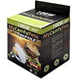 MyComfyPets UVB Light and UVA 2-in-1 Reptile...