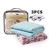 softan Kinder Beschwerte Gewichtete Decke 3 Stück(100 x 150cm 2.3kg)-TherapieDecke,Premium Cover,...