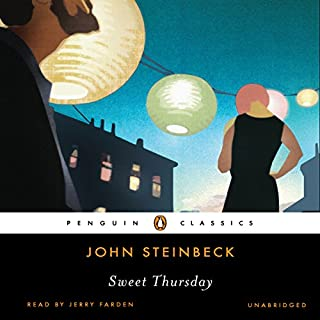 Sweet Thursday                   Auteur(s):                                                                                                                                 John Steinbeck                               Narrateur(s):                                                                                                                                 Jerry Farden                      Durée: 8 h et 56 min     Pas de évaluations     Au global 0,0