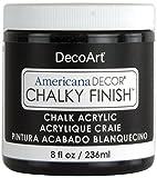 Deco Art Americana Chalky Finish Paint 8oz, Carbon...
