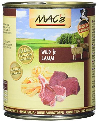 MAC's Wild & Lamm (mit Nudeln), 6er Pack (6 x 800 g)
