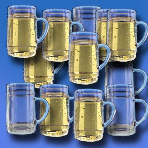 G'spritzter/Schorle Glas 0,25l SAN Kunststoffglas, 12er-Set