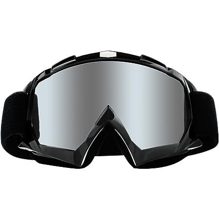 Dark Smoke Lens Off Road Motocross Dirt Bike ATX ATV UTV MX Motorcycle Goggles