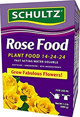 Schultz 1.5lb Water Soluble Rose Food 14-24-24