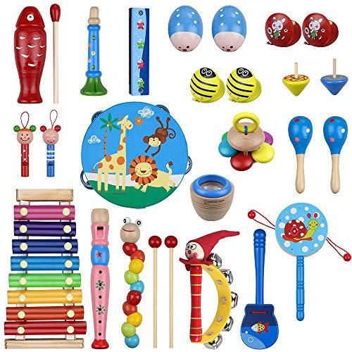 8 Arten Kunststoff Cartoon Baby Hand Glocke Rassel Musik Geschenk Für Kind ei