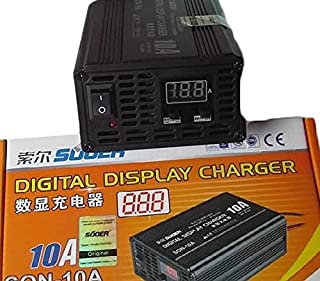 SUOER (10A ) Car Battery charger 12V&6V ,Fast/Auto with selectors (SON-10A ) - 2724297915684
