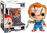 Pop! La Novia de Chucky Chucky de Vinilo Coleccionable Serie de películas de Terror muñecas de Jugue...