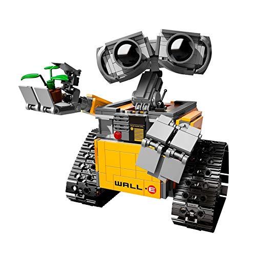 aolongwl Bloques de construcción Disney 687 Uds Wall E The Robot Bloques De Construcción Idea Technic Figuras Modelo Compatible DIY Juguetes Educativos para Niños